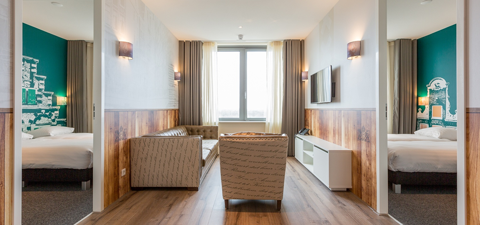 Two Bedroom Apartment | Amsterdam ID Aparthotel